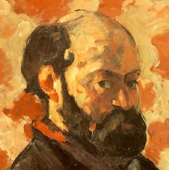 Painting of a Bald Man